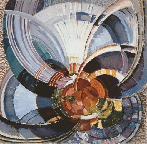 Frantisek Kupka. <em>Study for Around a Point</em>, 1911-1930.