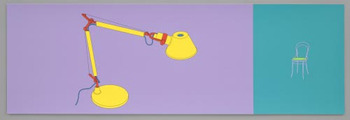 Michael Craig-Martin (British, born 1941). <em>Untitled</em> from the portfolio Folio, 2004. Screenprint, sheet: 12 7/8 x 39 3/8 in (32.7 x 100 cm). Publisher: Alan Cristea Gallery, London. Printer: Advanced Graphics London. Edition: 40. The Museum of Modern Art, New York. Virginia Cowles Schroth Fund, 2006. &copy; 2006 Michael Craig-Martin.