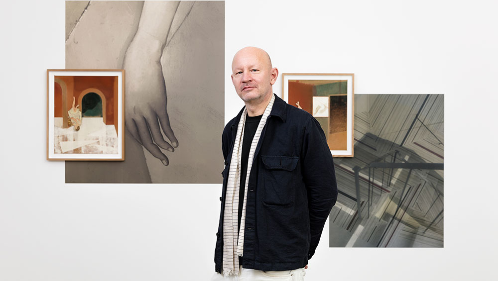 As he exhibits new work in Paris, the Swedish painter Jens Fänge talks about assemblage, the structure of dreams, and a childhood encounter with piscine mortality