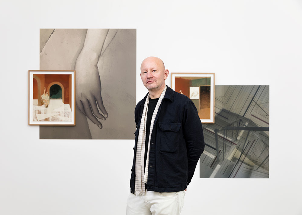 Portrait of Jens Fänge. Photo © Claire Dorn. Courtesy the artist and Perrotin.