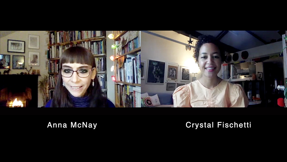 Crystal Fischetti talks about 'coming out' of the spiritual closet, and how she uses her whole body to paint, in a dance-like, yogic manner