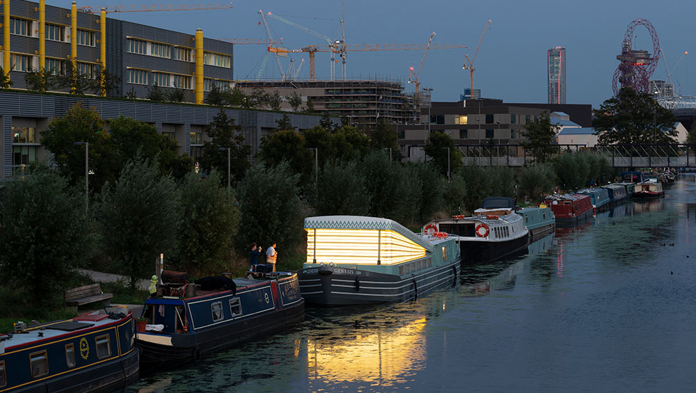 Elements of care and craftsmanship link Genesis, a floating faith space on a traditional narrowboat, to ancient and rural church typologies. Designed by the architects Denizen Works, it will support communities on and around east London's canals