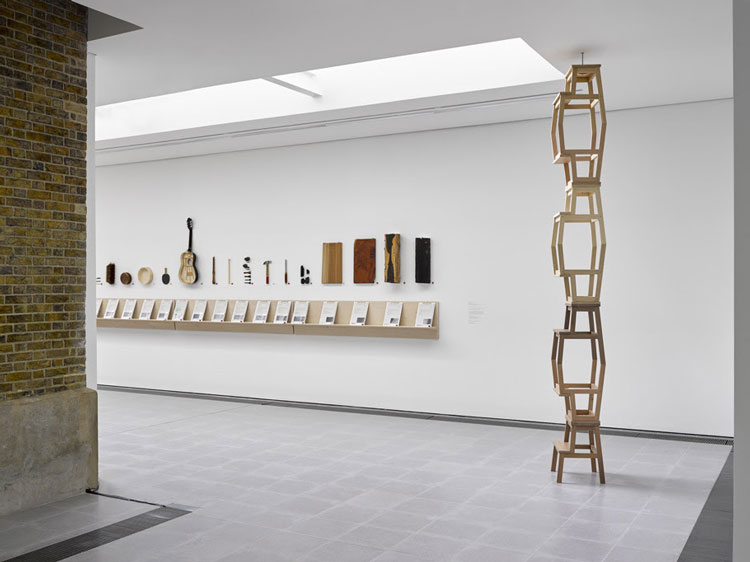 East Gallery, Formafantasma, Cambio, installation view, Serpentine Sackler Gallery, London, 4 March – 17 May 2020. Photo: George Darrell.