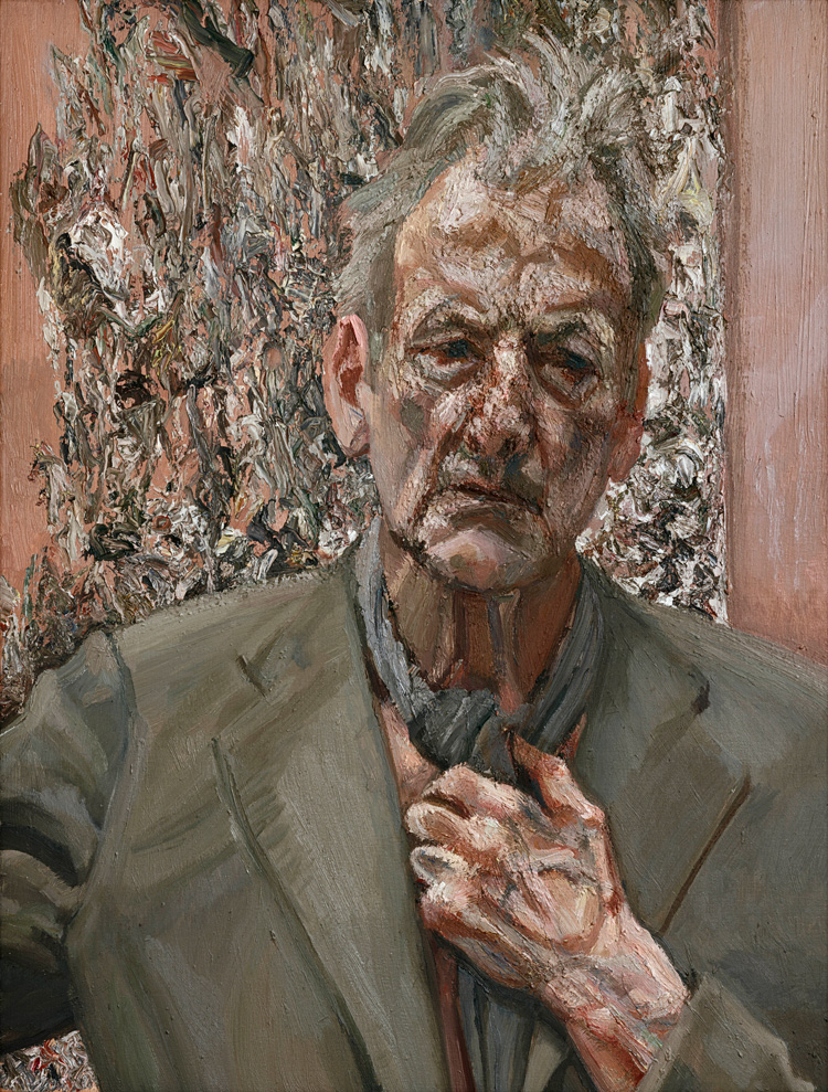 Lucian Freud. Self-portrait, Reflection, 2002. Oil on canvas, 66 x 50.8 cm. Private collection. © The Lucian Freud Archive / Bridgeman Images.