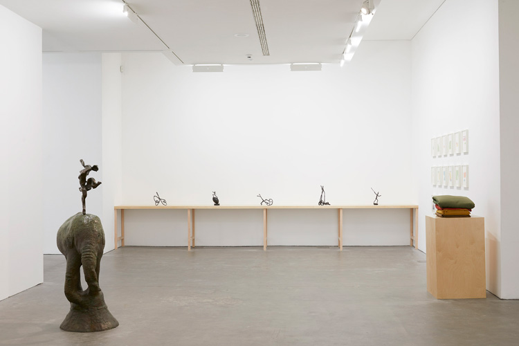 Barry Flanagan, installation view, Ikon, 2019. Courtesy The Estate of Barry Flanagan and Ikon.