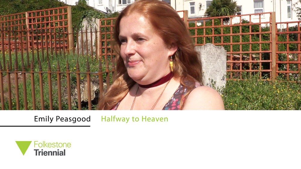Emily Peasgood's sound piece Halfway to Heaven is set in a Baptist graveyard, a high hump of soil, weeds and tumbling headstones wedged between a road and a terrace of houses. Studio International talked to her about its inspiration and meaning