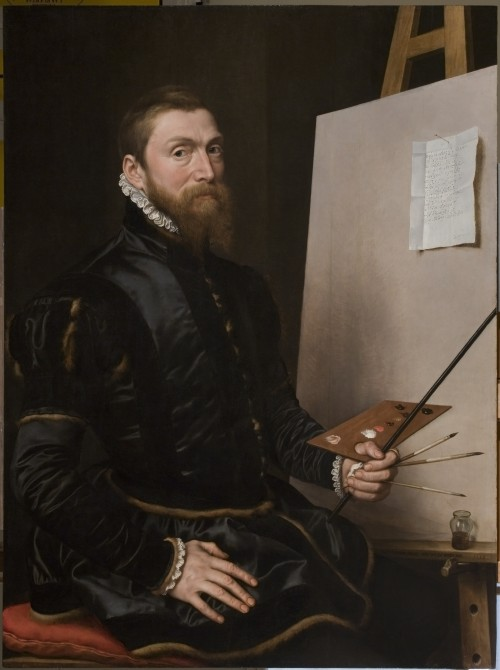 Anthonis Mor. Self portrait, 1558. Oil on panel, 113 x 84 cm. Galleria degli Uffizi. © Serge Domingie, Florence.