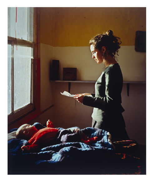 Tom Hunter. Woman Reading a Possession Order; Persons Unknown, 1997. © Tom Hunter and Purdy Hicks Gallery, London.