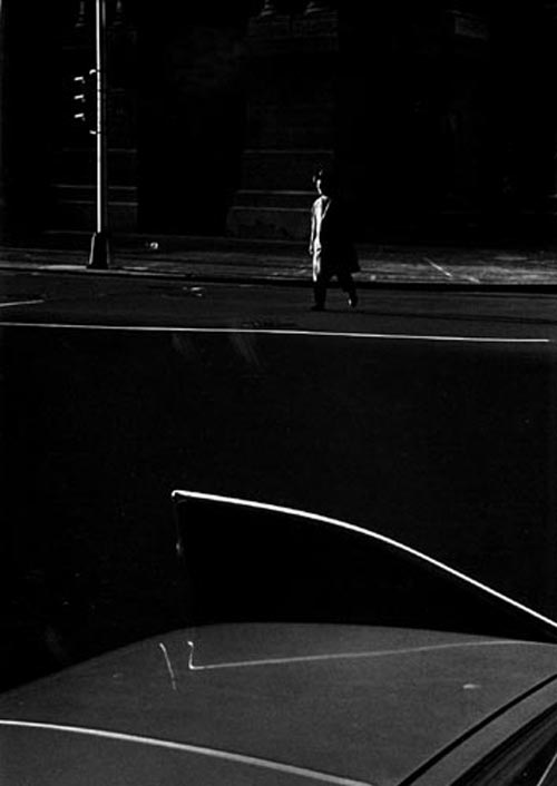 Fan Ho. <em>Ray K Metzker</em>. Philadelphia, 1964. Courtesy Laurence Miller Gallery, New York.