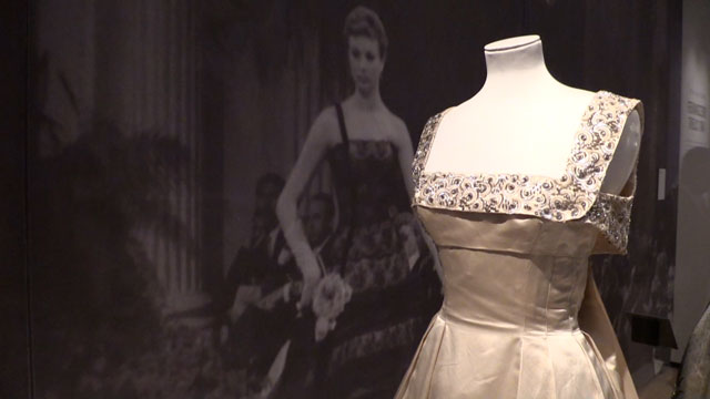 The Glamour of Italian Fashion 1945-2014 at the V&A, 5 April – 27 July 2014. Installation view.