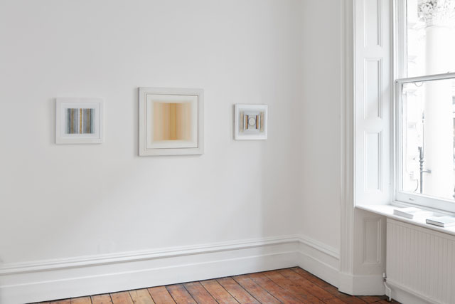 Paul Feiler. Installation view at Jessica Carlisle Gallery, London.