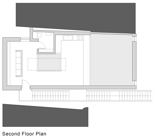 From top: <em>Ground floor plan</em>; <em>First floor plan</em>; <em>Second floor plan</em>.