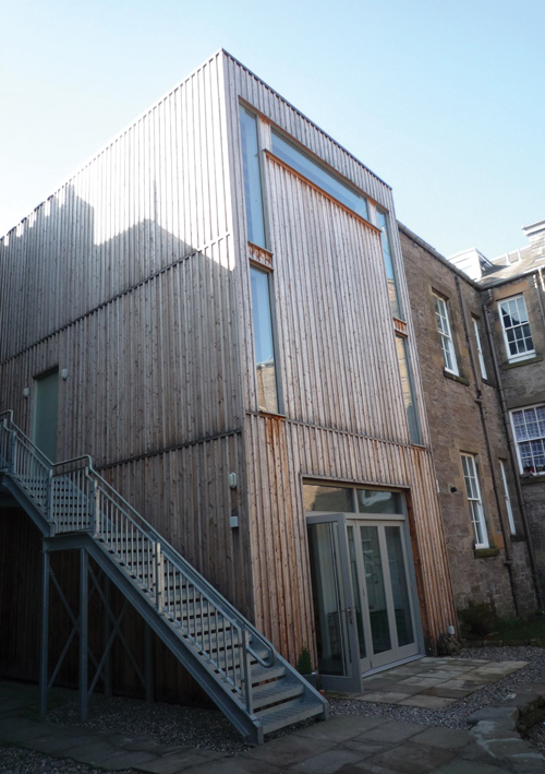 Melville Street Studio, Perth. <em>Rear elevation.</em> © Fergus Purdie Architect.
