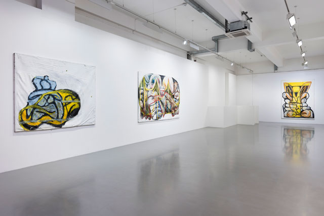Gerasimos Floratos: Big Town. Installation view. Photograph: Damian Griffiths. Courtesy the artist and Pilar Corrias Gallery, London.