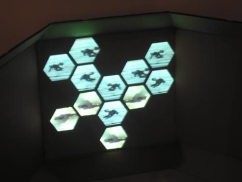 Ewan Sinclair. <em>Don't let me down again,</em> 2008. Video projection, Chicago. John David Mooney Foundation. Metasenta Projects, RMIT University and Edinburgh College of Art