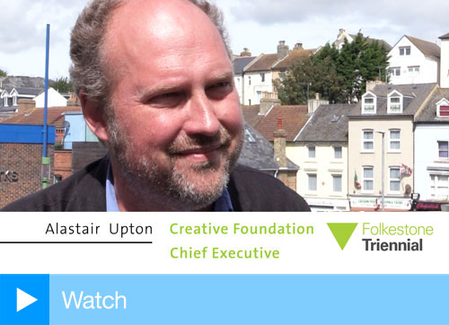Alastair Upton, chief executive of The Creative Foundation, Folkestone.
