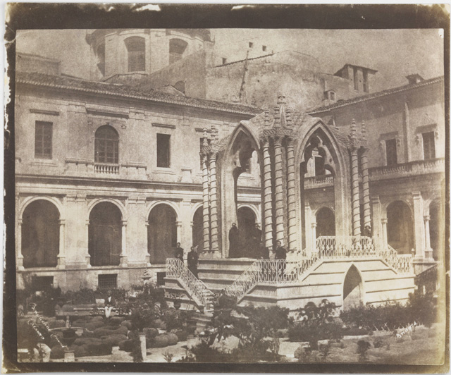 Rev G W Bridges. Garden of the Benedictine Monastery of San Nicolò l'Arena, Catania, 1846. © National Media Museum, Bradford / Science & Society Picture Library.