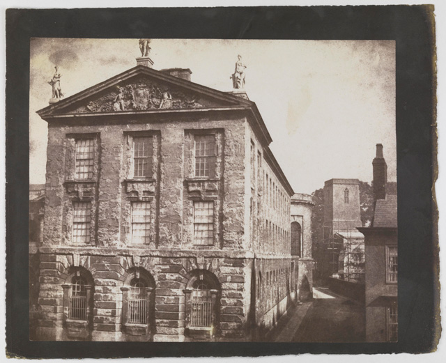 William Henry Fox Talbot. Part of Queen's College, Oxford, 4 September 1843. © National Media Museum, Bradford / Science & Society Picture Library.