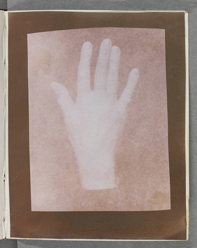 William Henry Fox Talbot. Study of a hand, c1841. © National Media Museum, Bradford / Science & Society Picture Library.