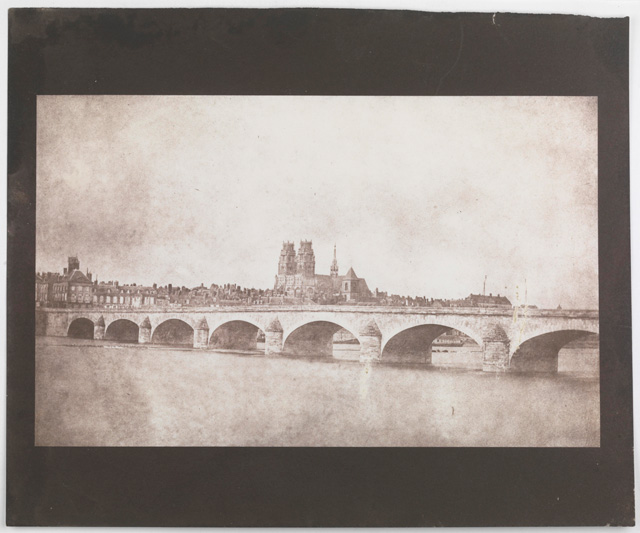 William Henry Fox Talbot. The Bridge of Orleans, 14 June 1843. © National Media Museum, Bradford / Science & Society Picture Library.