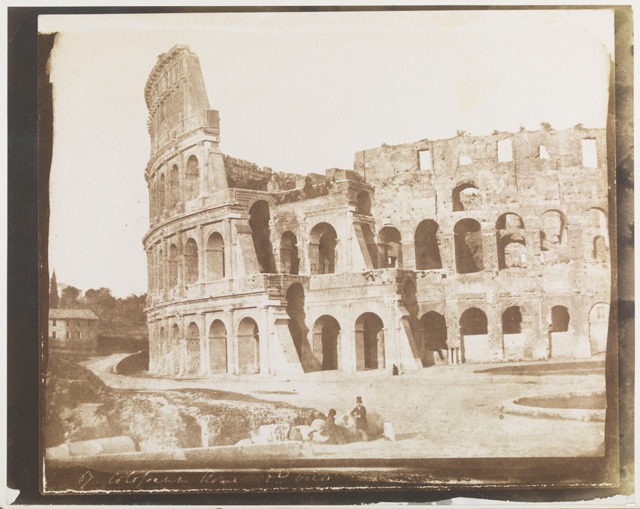 Rev C R Jones. The Colosseum, Rome, second view, 1846. © National Media Museum, Bradford / Science & Society Picture Library.