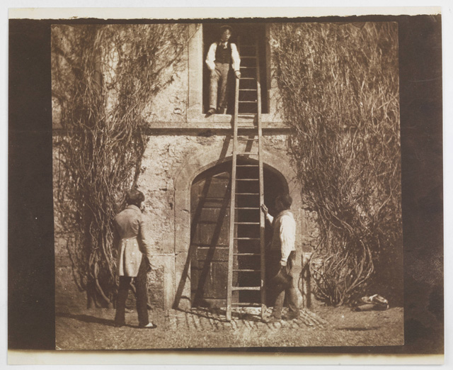 William Henry Fox Talbot. The Ladder, April 1844. © National Media Museum, Bradford / Science & Society Picture Library.