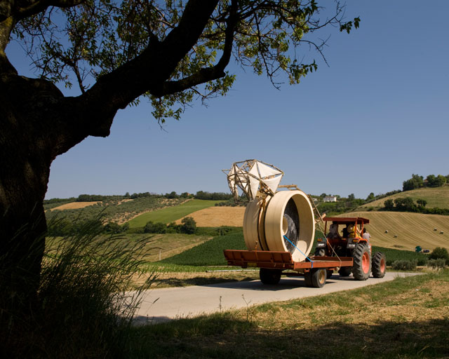 This is Not a Trojan Horse (in transit), 2010. Photograph: Daniela d'Arielli.