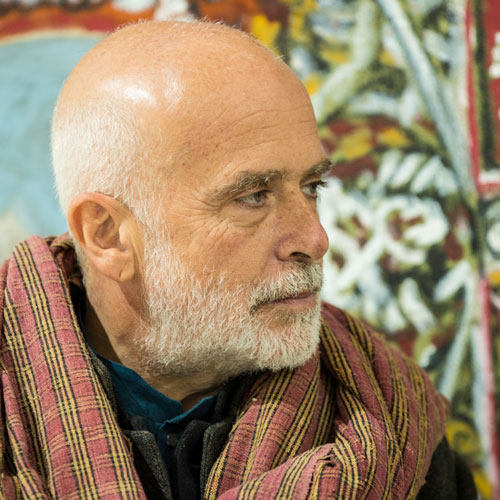 Francesco Clemente. London, November 2012. Photograph: Nick Howard