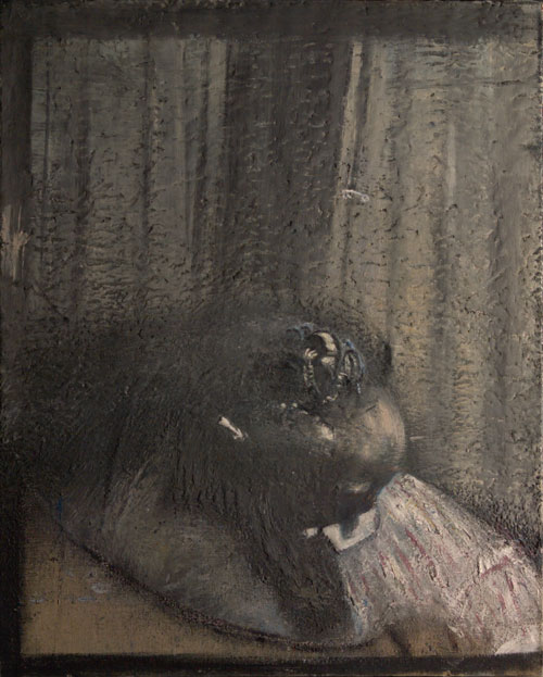Francis Bacon. Head II, (detail) 1949. Oil on canvas, 80 x 63.6 cm. Ulster Museum, Belfast. Donated by the Contemporary Art Society, London, 1959. National Museums Northern Ireland. © The Estate of Francis Bacon. DACS/Licensed by Viscopy.