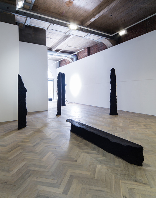 Michel François, installation view (2), Thomas Dane Gallery, London, April 2015.