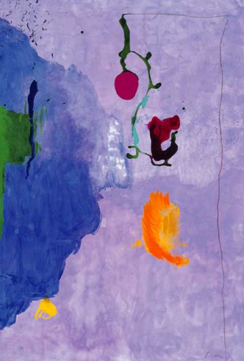 <i>Eve</i>, 1995, Acrylic on Paper, 75 x 50&quot;<br>