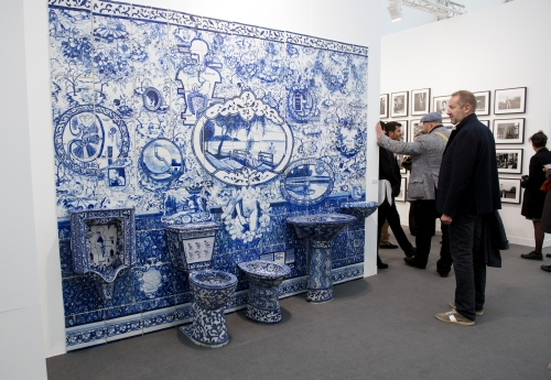 PPOW, Frieze London 2015. Photograph: Linda Nylind. Courtesy of Linda Nylind/Frieze.
