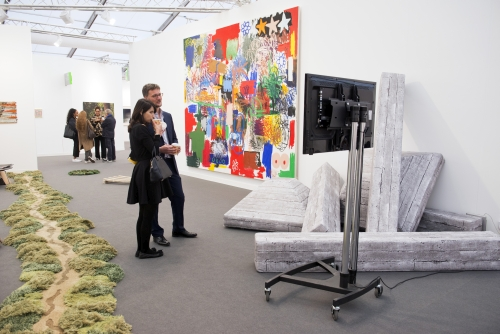 The Breeder, Frieze London 2015. Photograph: Linda Nylind. Courtesy of Linda Nylind/Frieze.