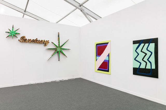 Sadie Benning's installation at Susanne Vielmetter Los Angeles Projects. Courtesy Frieze New York.