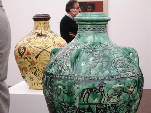 Grayson Perry. <em>An ultimate consumer durable</em> and <em>Quotes from the internet</em>.