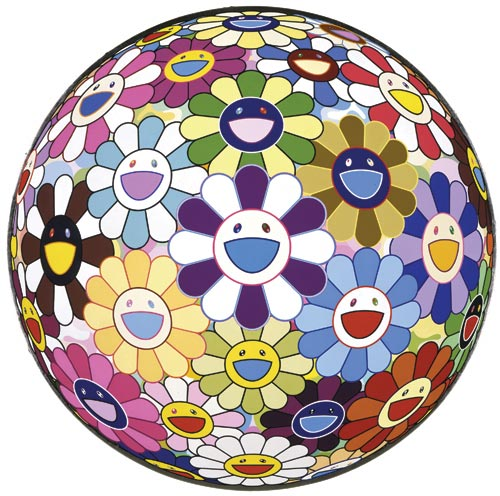 Takashi Murakami. <em>Flower Ball (3-D) Kindergarten</em>, 2007. Courtesy of the Gagosian Gallery, London