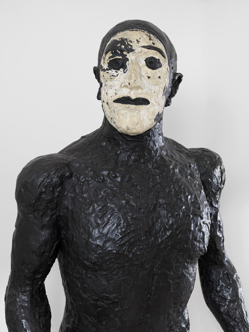 Elisabeth Frink. Walking Man (Riace I), 1986. FCR347 (SC16). Bronze, H: 211 cm (6 ft 11 inches). Edition of 4. Copyright Beaux Arts Gallery, London.