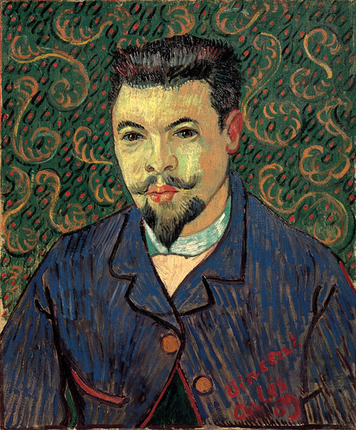 Vincent Van Gogh. <em>Portrait of Dr Felix Rey, </em>1889. Oil on canvas, 64 x 53 cm. The State Pushkin Museum of Fine Arts, Moscow .Photograph © The State Pushkin Museum of Fine Arts, Moscow