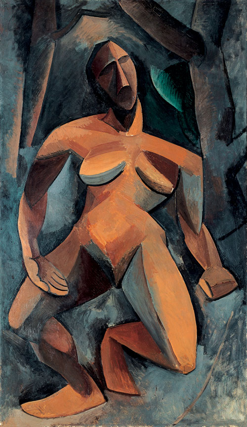 Pablo Picasso. <em>Dryad,</em> 1908. Oil on canvas, 185 x 108 cm. The State Hermitage Museum, St Petersburg. Photograph: The State Hermitage Museum, St Petersburg