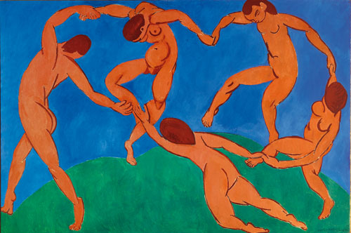 Henri Matisse. <em>The Dance,</em> 1910. Oil on canvas, 260 x 391 cm. The State Hermitage Museum, St Petersburg. Photo Archives Matisse, Paris