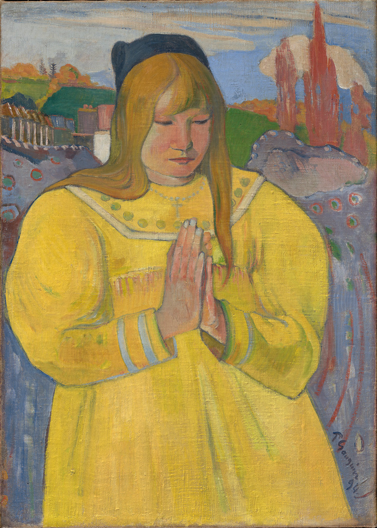 Paul Gauguin, Young Christian Girl, 1894. Oil on canvas, 65.3 × 46.7 cm. Sterling and Francine Clark Art Institute, Williamstown, Massachusetts, USA. Image courtesy of the Clark Art Institute, Williamstown, Massachusetts, USA.