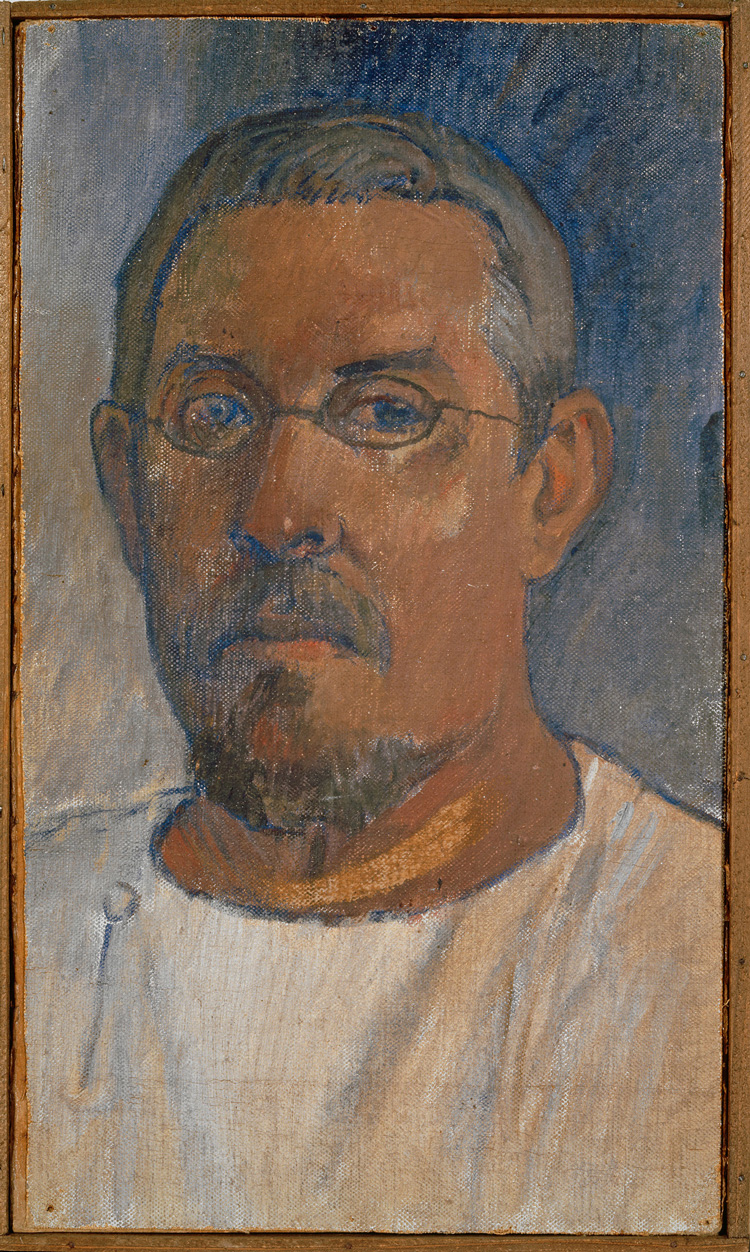Paul Gauguin, Self-Portrait, 1903. Oil on canvas, 41.4 × 23.5 cm. © Kunstmuseum Basel (1943).