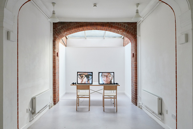 Beatrice Gibson. For Eileen, For CA. Installation view, Camden Arts Centre, 2018. Copyright Beatrice Gibson. Photo: Luke Walker.