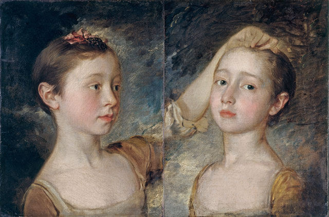 Thomas Gainsborough. Mary and Margaret Gainsborough, the Artist's Daughters, c1760–61.