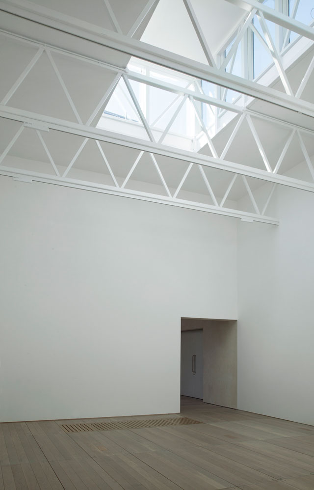 Goldsmiths Centre For Contemporary Art, Lantern gallery. Image courtesy of Assemble.