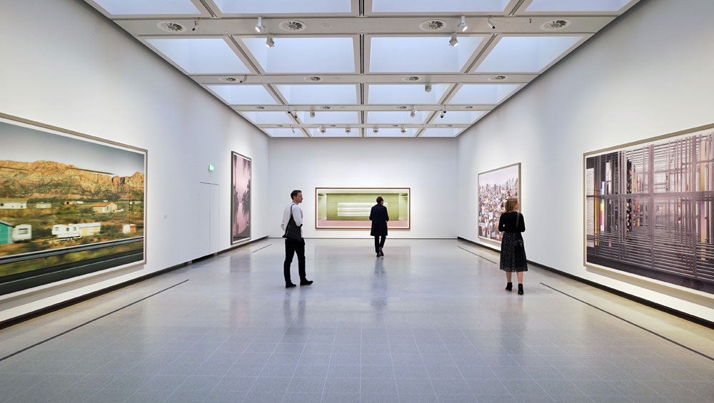 This first major UK retrospective of German photographer Andreas Gursky, at the newly renovated Hayward Gallery, is a must-see visual feast of epic proportions