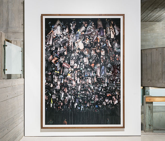 Andreas Gursky at Hayward Gallery 25 January – 22 April 2018. Installation view. Photograph: Mark Blower.
