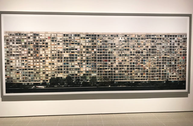 Andreas Gursky at Hayward Gallery 25 January – 22 April 2018. Installation view, Paris, Montparnasse, 1993. Photograph: Martin Kennedy.