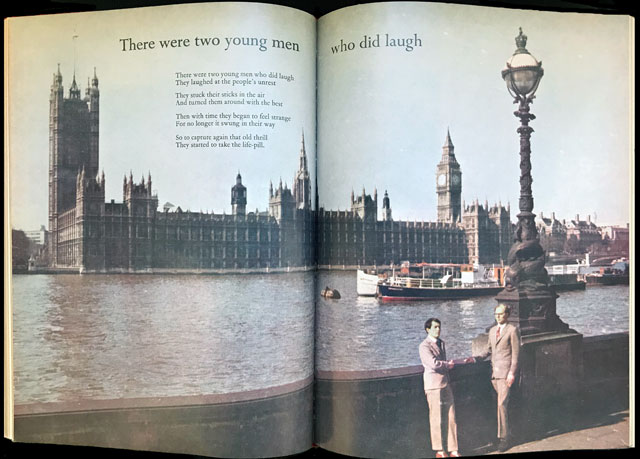 Gilbert & George, There were two young men who did laugh. Magazine Sculpture, published in Studio International, May 1971, Vol 181 No 933.