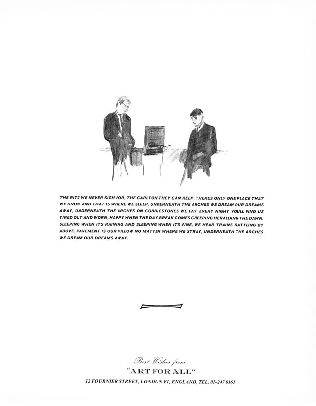 Gilbert & George, Magazine Sculpture, published in Studio International, May 1970, Vol 179 No 922, p 219.